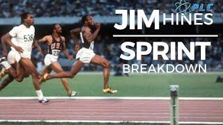 Jim Hines Sprint Breakdown