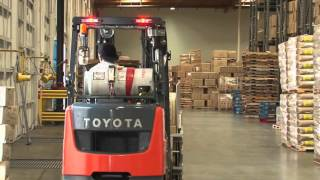 Toyota Forklifts Case Study- Pacific Mountain Logistics