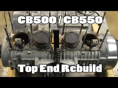 How-To: CB500 CB550 Top End Rebuild