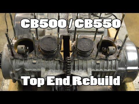 How-To: CB500 CB550 CB650 Top End Rebuild