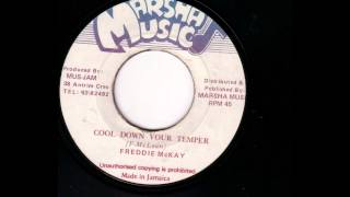 Freddie Mckay - Cool down your temper ( 7 inch )