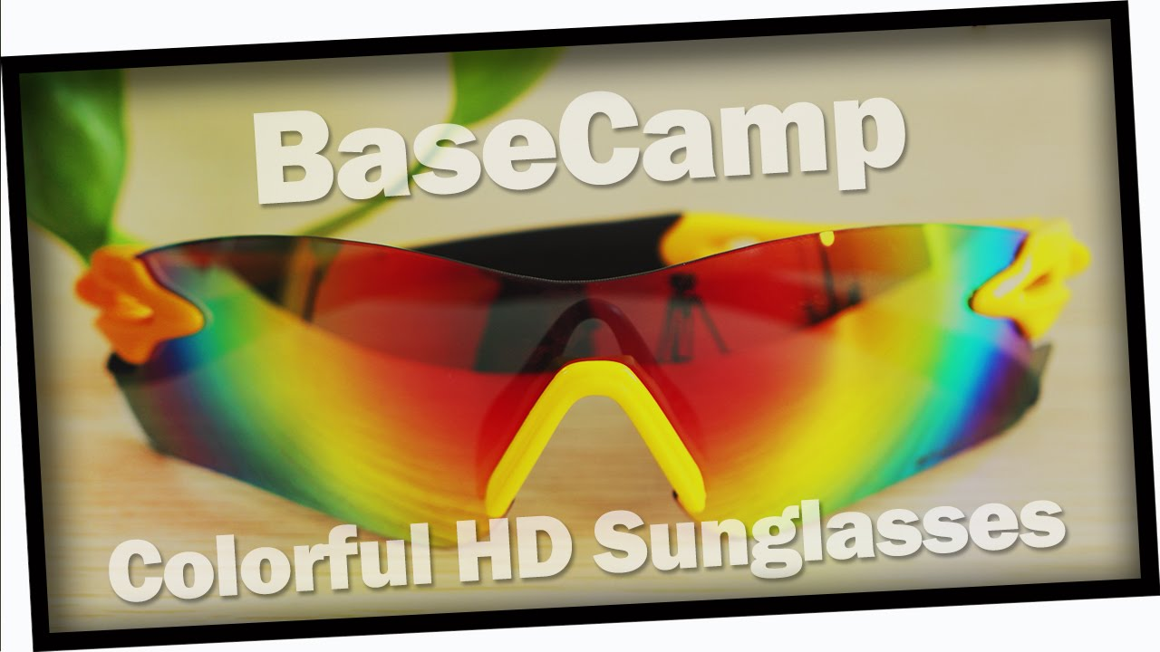 BaseCamp Cycling Glasses Goggle Eyewear from GearBest.com - YouTube