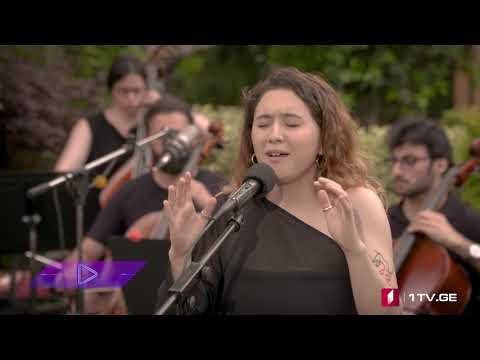 #აკუსტიკა Nini Nutsubidze, The Janngo, Zagareli & Strings - The Moon
