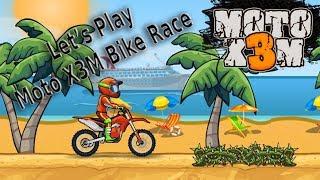 Moto X3M Bike Race - Let's Play (Online Racing Game)