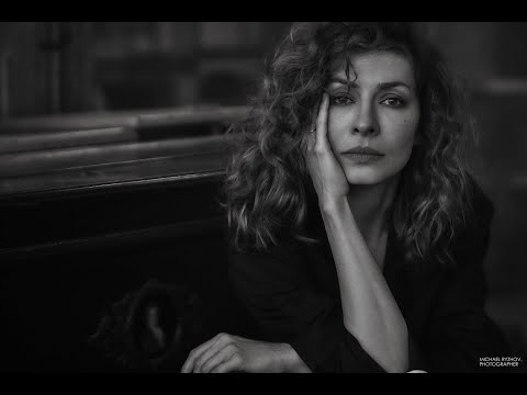 Бекстейдж фотосъемки Михаила Рыжова с актрисой Еленой Подкаминской.
