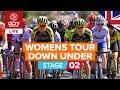 REPLAY: Santos Women's Tour Down Under 2020 Stage 2   Novatech Stage 2: Murray Bridge - Birdwood