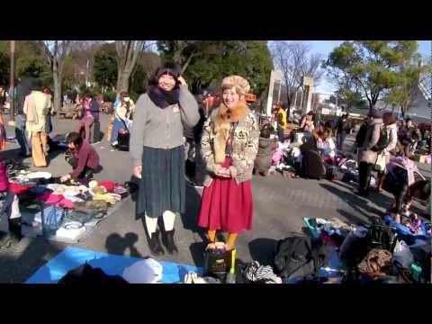 Yoyogi Flea Market - Tokyo Resale Fashion & Fun