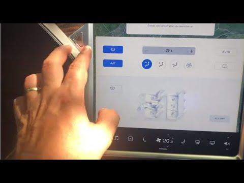 #76 Tesla OS Model S/X  Klimatizace a HEPA filtr | Teslacek