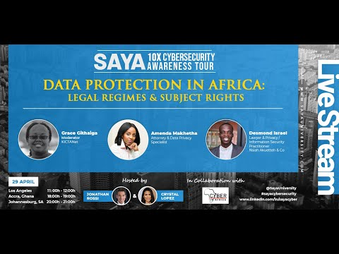 Data Protection in Africa: Legal Regimes & Subject Rights