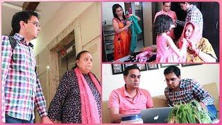 London Se Devarji Dekhiye Kya Laye - Saas Jane Ki Khushi Ya Dukh ? | Indian Mom On Duty
