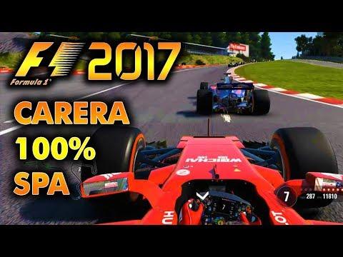 F1 2017 Carrera 100% GP de Bélgica | Kimi Räikkönen