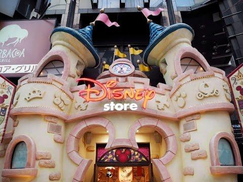 2016 Tokyo Day 4 - Shibuya   ITS' DEMO   Disney Store