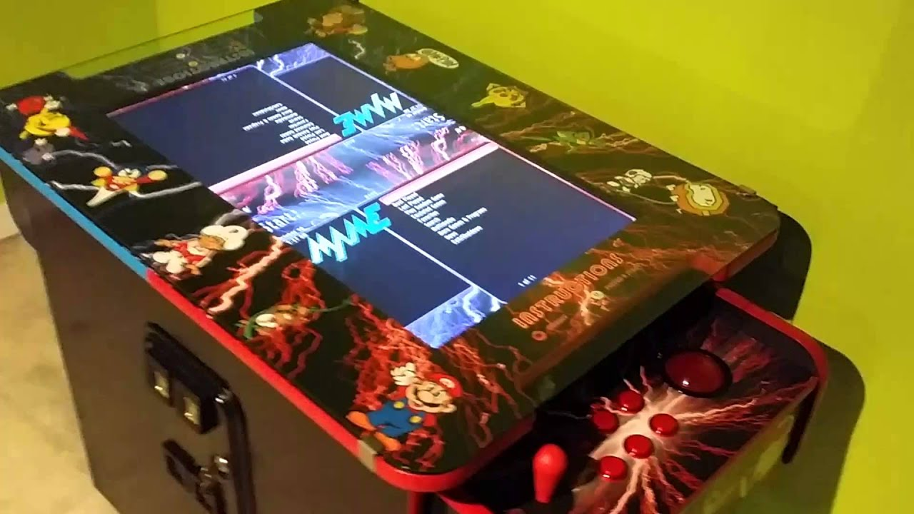 2 Player Cocktail Arcade