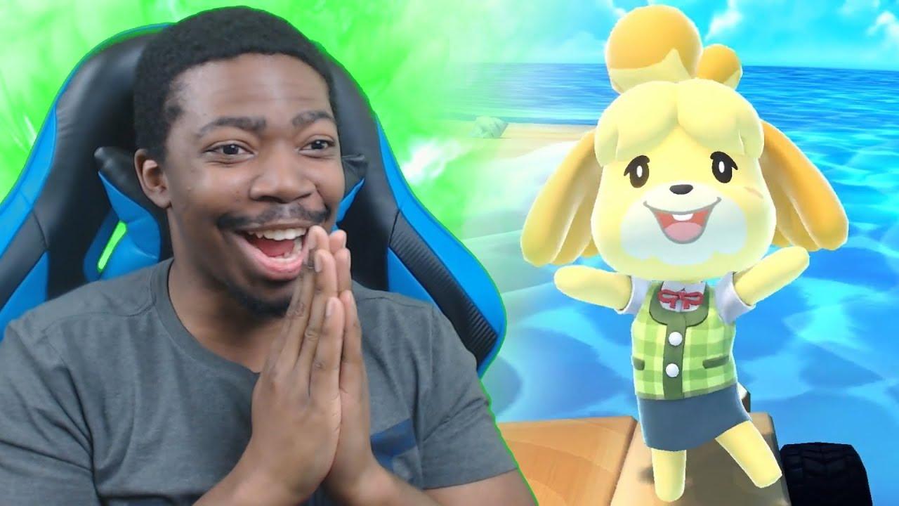 ISABELLE GOT IN SMASH ULTIMATE!!! Nintendo Direct Live Reaction!