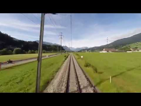 Die Zentralbahn: Hin und weg - Auf der Reise von Luzern nach Interlaken.