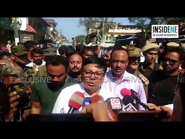 Assam: Himanta Biswa Sarma Bike Rally Sees Collision between BJP & Congress Workers