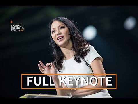 Amy Chua - Triple Package: What Really Determines Success | Nordic Business Forum 2016