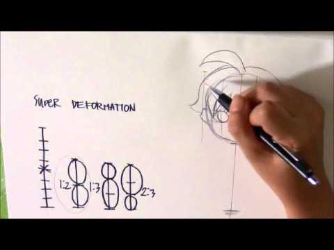 สอนวาดการ์ตูน SD สาวน่ารักง่ายๆ