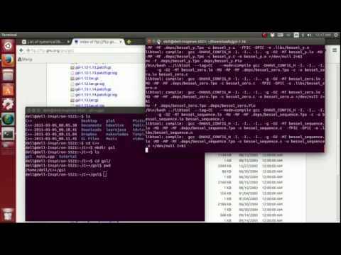 (Ubuntu) C++ GSL memo 3: Install GSL library