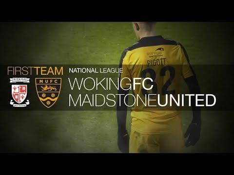 Woking Vs Maidstone United (06/01/18)