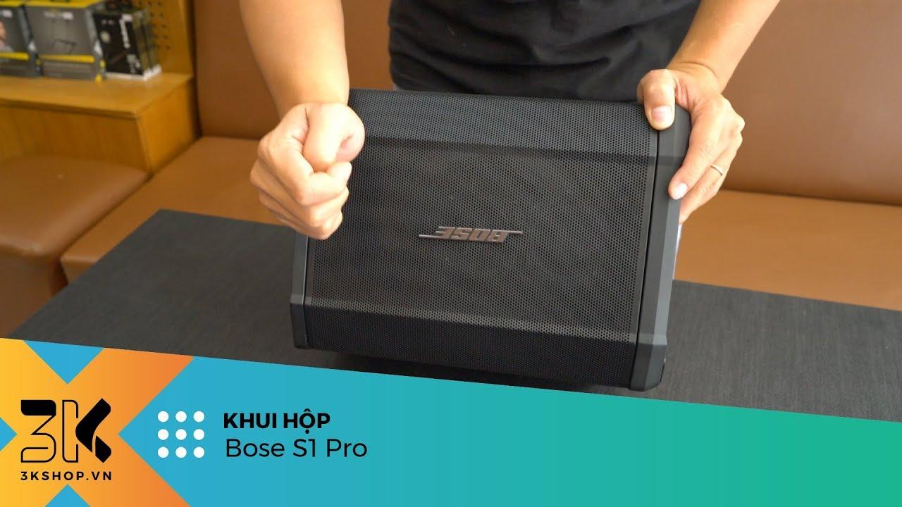 Unboxing Bose S1 Pro | Mẫu loa di động chuyên nghiệp mới nhất của Bose