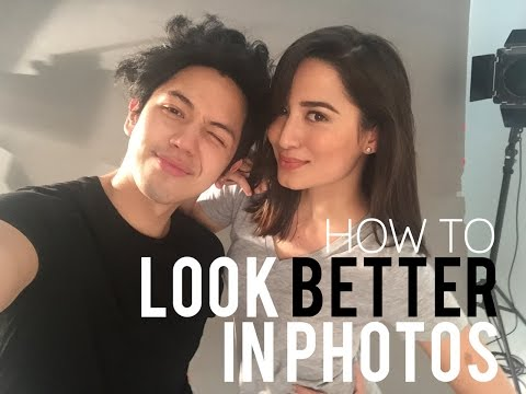 How to Look Better in Photos / Selfies according to BJ Pascual | Nicole Andersson