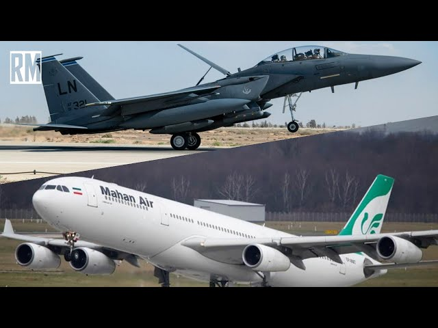 US Jet Harasses Iranian Civilian Airliner