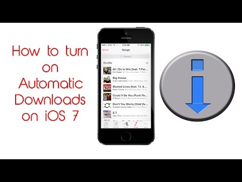 automatic downloads on iphone 7