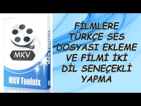 Filmlere Türkçe Ses Dosyası Ekleme + İki Dil Seçenekli Yapma