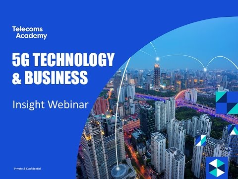 5G Technologies & Business Insight Webinar (March 2017)