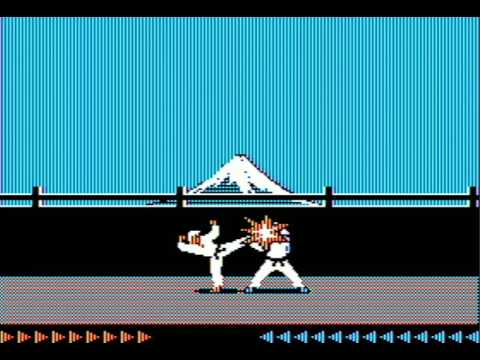 Karateka (1984, Jordan Mechner) - Rotoscoped Animations and Cinematic Presentation
