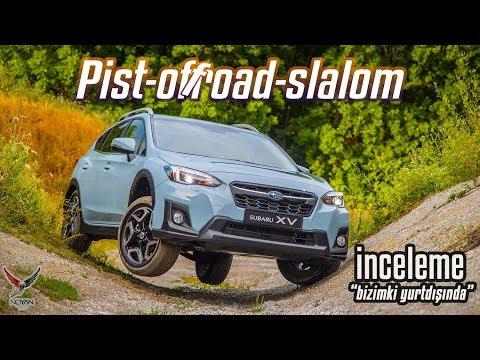 "Yeni Subaru XV ""inceleme"" Pist, Off-Road, Slalom"