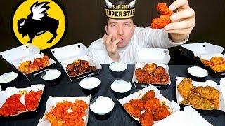 $100 Worth Of Buffalo Wild Wings • 10,000 Calories • MUKBANG