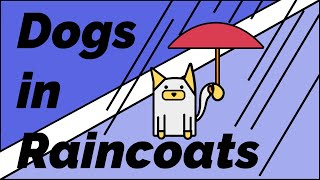 Dogs in Raincoats Compilation: Cute Dogs Running Around in Raincoats!
