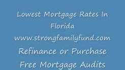 Low Refinance Mortgage Rates In Fort Lauderdale
