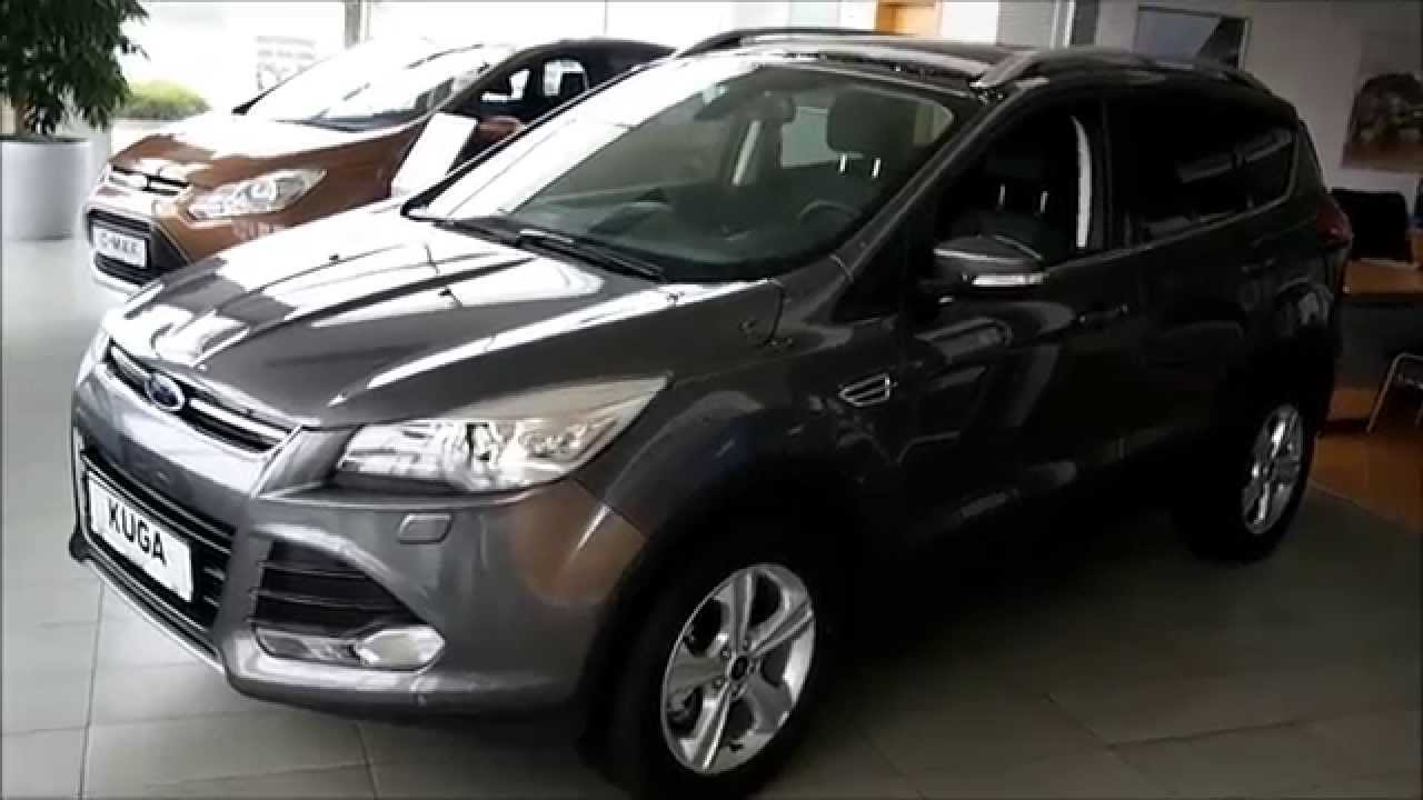 ford kuga titanium magnetic gray 2 0 tdci 140k youtube. Black Bedroom Furniture Sets. Home Design Ideas