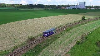 Motoráček KDS Kladno do Království železnic 13.5.2017