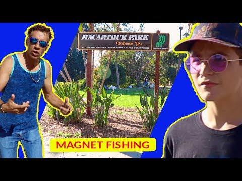 Magnet Fishing MacArthur Park