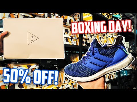 50% Off Adidas Outlet SALE! Pharrell, UltraBOOST, NMD!