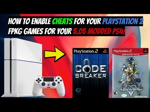 How To Enable Cheats For Your PlayStation 2 FPKG Games For Your 5.05 Modded PS4!