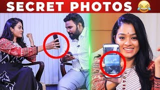 LOL : Whatsapp Emoji Secrets   Actress Gayathri Funny Phone Secrets