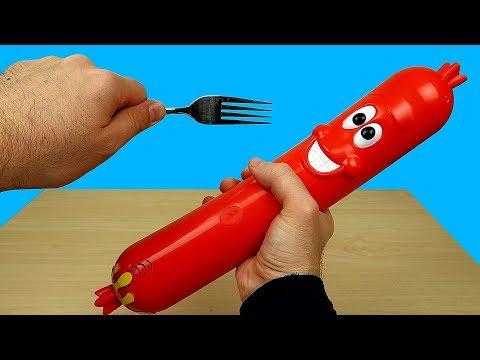 Новая интерактивная игрушка: Шальная сосиска или Silly Sausage! Alex Boyko