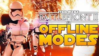 Star Wars Battlefront 2 Offline Game Modes