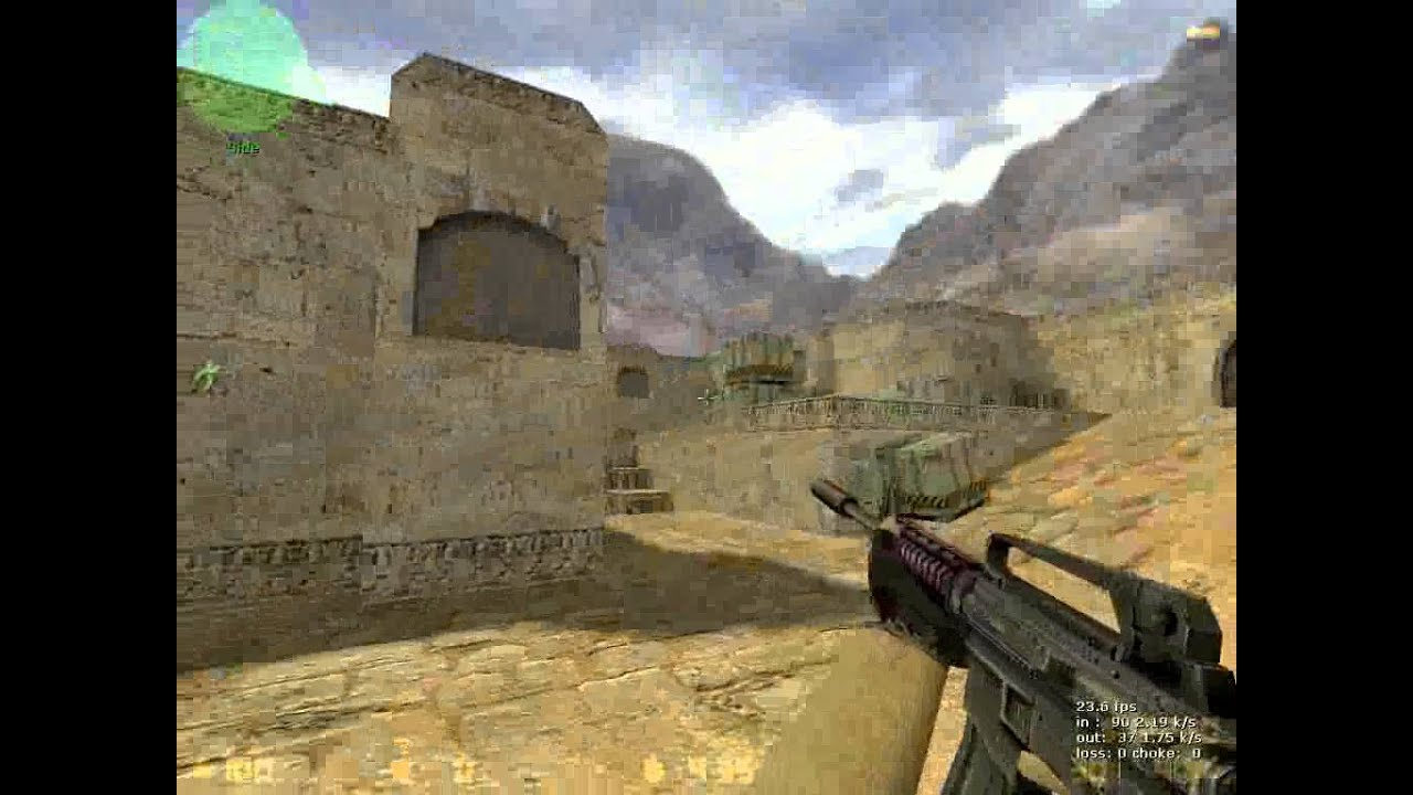 how to play counter strike 1.6 with joystick