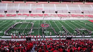 OSUMB Buckeye Kickoff with Ramp Script Ohio and More 8 27 2015 Ohio State Marching Band