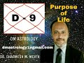 D-9 Navamansha Chart by Dr. Dharmesh M Mehta