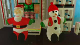 Chantilly Lane's Edit Of Sterling Inc Dancing Jingle Bells Characters Demo In Roblox (Christmas S...