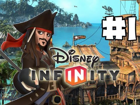 Disney Infinity - Gameplay Walkthrough - Pirates Playset - Part1 - Jack Sparrow (HD)