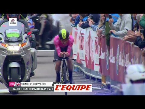 La fin du chrono de Simon Yates à Rovereto - Cyclisme - Giro