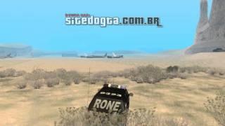 Carro brasileiro Chevrolet Blazer 2010 do RONE da PMPR para GTA San Andreas